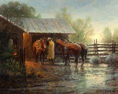 Gerald Harvey Jones, 1933 ~ Western painter | Tutt'Art@ | Pittura * Scultura * Poesia * Musica |