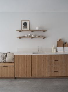 Since early fall I've been so lucky to be working with Kine and Kristoffer on their new Oslo studio. For those of you who isn't familiar with Ask og Eng, let me tell you their story. Kitchen Flooring, Kitchen Furniture, Kitchen Interior, Kitchen Design, Furniture Design, Furniture Nyc, Quality Kitchens, Design Moderne, Cuisines Design