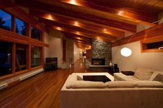 Whistler Chalet- Emerald - modern - living room - vancouver - Wexler Architecture