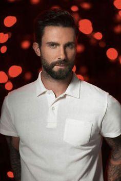 Adam Levine making a golf shirt look sexy