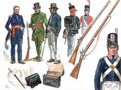 Napoleonic Military Paintings/Sketches/Uniform Plates - page 4 - Historical Discussion - Flying Squirrel Entertainment American Uniform, American War, Army Uniform, Military Uniforms, Battle Of New Orleans, Independence War, British Uniforms, War Of 1812, Military Insignia