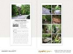 Travelogue No. 1 by paislee press Photoshop For Dummies, Photoshop Ideas, Memory Journal, Book Journal, Travel Journal Scrapbook, Travel Journals, Notebook Sketches, Travel Memories, Travelogue