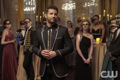 Dynasty premieres Fall 2017 on The CW. The Cw, Alan Dale, Dynasty Tv Show, Nathalie Kelley, Elizabeth Gillies, Critique, Masquerade Party, Mens Fashion Suits, Couple