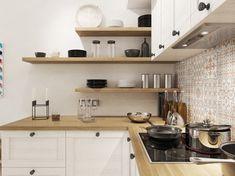 40 Stylish Kitchen Cabinet Design Ideas You'd Wish to Own Kitchen Interior, Home Decor Kitchen, Kitchen Cabinet Design, Scandinavian Kitchen, Kitchen Cabinets, Kitchen Decor, Small Kitchen Layouts, Home Kitchens, Kitchen Design