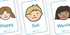 Emotion cue cards