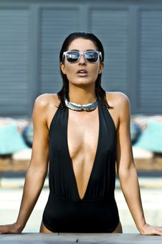 Blueprint Eyewear. Sexy pool shoot in Ibiza. Premium sunglasses, design your own and time to shine!