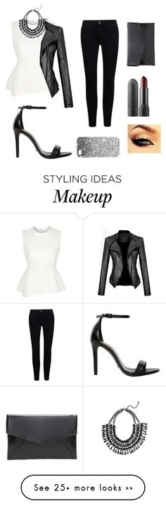 """""""Untitled #23"""" by matamala-flor on Polyvore featuring Alexander Wang, Schutz and Topshop"""