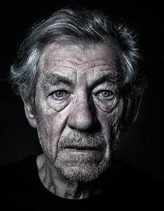 Sir Ian Murray McKellen, photographed by Andy Gotts.