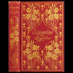 1899 Henry Wadsworth Longfellow Poetry RARE Illustrated Art Nouveau Fine Binding   eBay