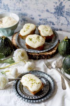 Bizcochitos de calabacín con lima by Loleta.es