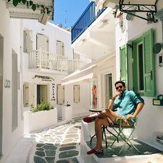 Kalimera :) SEZ in #Mykonos by @gamzebiran by sezyilmaz