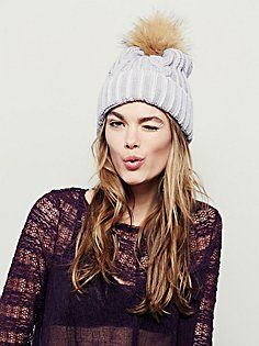 Arctic Washed Cable Beanie