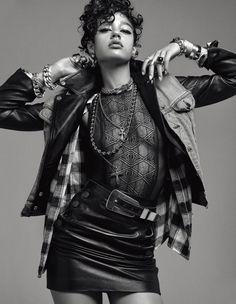Bad Girl: Дамарис Годдри в фотосессии для сентябрьского выпуска журнала Numéro