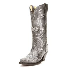 Lucchese Black Full Quill Cowgirl Boots|All Womens Western Boots ...