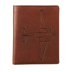 For your Preppy Pal: Estate Passport Case by Fossil