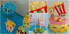 Shopkins, Facebook, Cake, Sweet, Desserts, Food, Candy, Tailgate Desserts, Pie