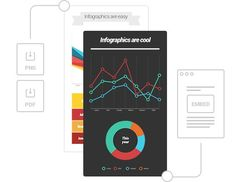 Make charts and infographics online - custom and easy.