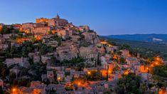 """""""The picturesque cliff-top village of Gordes in the Luberon, Provence, has substance as well as beauty, with historical significance spanning from the Roman Empire to World War II. A short drive or rewarding bike ride from Clos Saint Estève. Luberon Provence, Sea To Sky Highway, Park Pictures, Beaux Villages, Picture Postcards, Small Towns, Beautiful Landscapes, Monument Valley, Tourism"""
