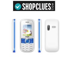VOX New V3100 Triple Sim Mobile Phone (White & Blue) at Rs.698 with Shipping – Shopclues