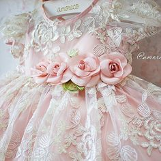 No automatic alt text available. Gowns For Girls, Little Dresses, Little Girl Dresses, Cute Dresses, Flower Girl Dresses, Baby Dresses, Fairy Dress, Christening Gowns, Toddler Dress