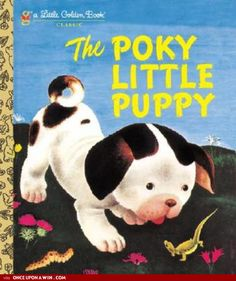 Booktopia has The Poky Little Puppy, A Little Golden Book Classic by Janette Sebring Lowrey. Buy a discounted Hardcover of The Poky Little Puppy online from Australia's leading online bookstore. Pokey Little Puppy, Little Puppies, This Is A Book, The Book, Ready Player One, Little Golden Books, My Childhood Memories, Childhood Toys, Sweet Memories