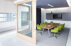 Vitra Offices, Weil am Rhein : Sevil Peach  flexibele wanden