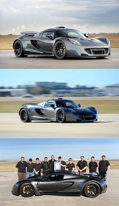 1244bhp Hennessey Venom GT is World's Fastest Production Car, Goes From 0-100MPH in 5.8-Seconds - TechEBlog