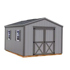 Ways To Make Extra Money Discover Best Barns Elm 10 ft. x 16 ft. Wood Storage Shed - The Home Depot Best Barns Elm 10 ft. x 16 ft. Wood Storage Shed Kit at The Home Depot - Mobile Build A Shed Kit, Diy Shed Kits, Storage Shed Kits, Build Your Own Shed, Building A Shed, Building Plans, Diy Storage, Wooden Storage Sheds, Outdoor Storage Sheds