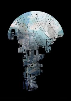 archisketchbook - architecture-sketchbook, a pool of architecture drawings, models and ideas - david fleck-tesseract: Secret Streets II Architecture Drawings, Architecture Student, Architecture Portfolio, Art Graphique, Art Plastique, Amazing Art, Awesome, Illustrators, Concept Art