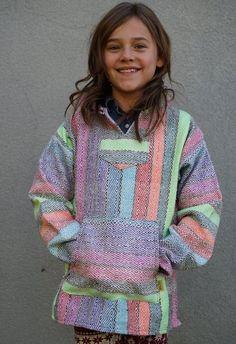 The Kids Baja Hoodie - Multi Rainbow Mexican Outfit, Baja Hoodie, Little Dresses, Hoodies, Sweatshirts, Gifts For Kids, Kids Outfits, Men Sweater, Graphic Sweatshirt