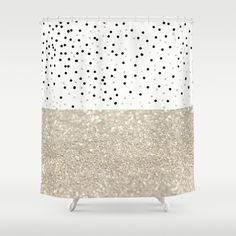 silver and gold shower curtain. FIRST DATE NUDE Shower Curtain SILVER By Monika Strigel  SHOWER CURTAINS