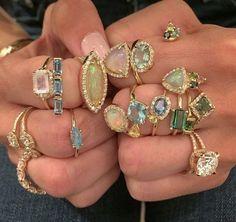 affectionately Cute Jewelry, Jewelry Accessories, Jewlery, Bold Jewelry, Trendy Jewelry, Summer Jewelry, Simple Jewelry, Jewelry Rings, Estilo Hip Hop