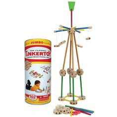 Tinker toys~ the best toy for learning design and engineering