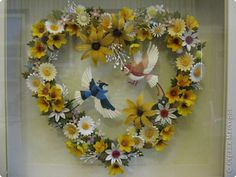 Photo report Applique Paper Quilling Exhibition Symphony Photo Paper 10