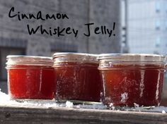 Cinnamon Whiskey Jelly Recipe - Putting Up with Erin