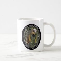 #photo - #Where is my CoffeeTired Squirrel Photo Coffee Mug