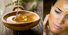 Китайская маска красоты из мёда, крахмала и соли  