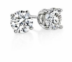 This is the opportunity to custom build your own stunning, timeless gift - Round Brilliant Cut Diamond Stud Earrings