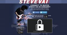 Exclusive Stream! Connect to watch Steve Vai's full concert from 'The Stillness In Motion: Vai Live In LA' and for a special Q