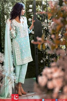Mina Hasan Embroidered Fabrics Collection 2015