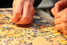Reflection and the Art of Solving Jigsaw Puzzles