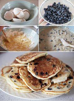 Sarah's Blueberry Pancakes