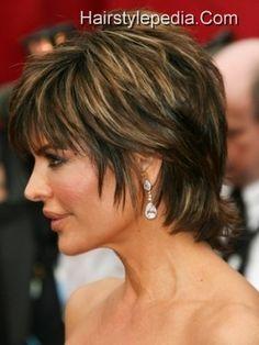 Lisa pixie short hair style