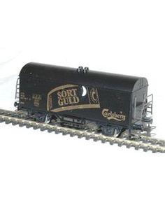 Märklin 44003DK. DSB Ølvogn. Carlsberg Sort Guld.