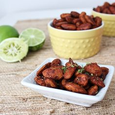 Chipotle Honey Lime Almonds
