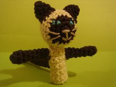 Siamese cat finger puppet - free pattern  do you have more please post thank you
