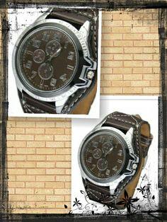 Reloj marrón - 9€  Ref: R108