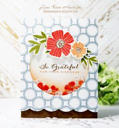 Stamp Away With Me: Shaker Card