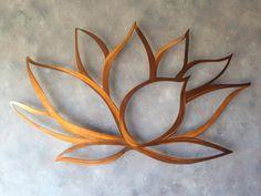 Lotus Flower Metal Wall Art Lotus Metal Art by INSPIREMEtals, $175.00