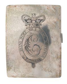 Officer's shoulder belt plate, 16th (or The Queen's) Regiment of (Light) Dragoons, 1800